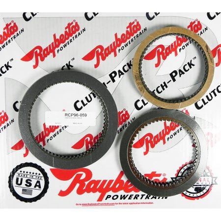 REMCO-Juego de discos pasta, Raybestos A518 1988-