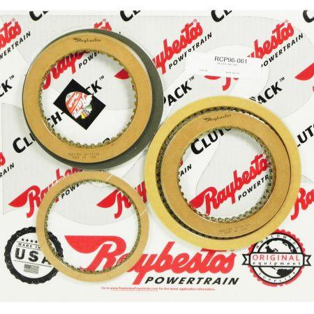 REMCO-Juego de discos pasta, Raybestos 4L80E 1991-