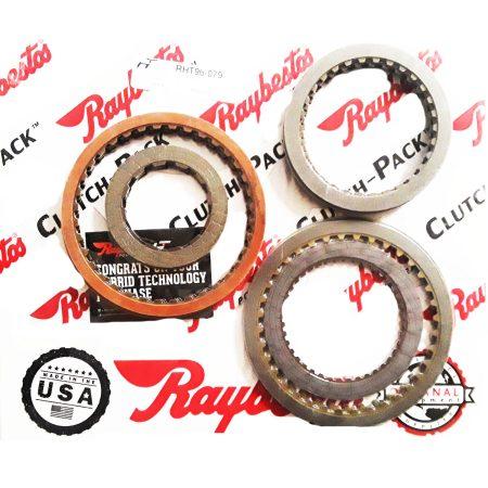 REMCO-Juego de discos pasta, Raybestos 4L30E 1998-