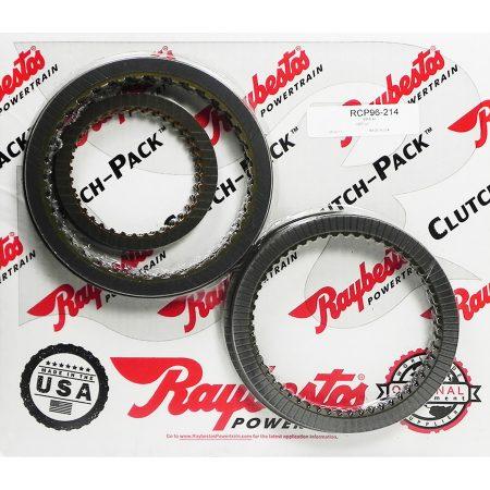 REMCO-Juego de discos pasta, Raybestos 6L80 6L90 2007-