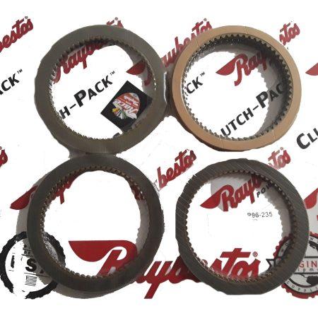 REMCO-Juego de discos pasta, Raybestos AX4N 2004-