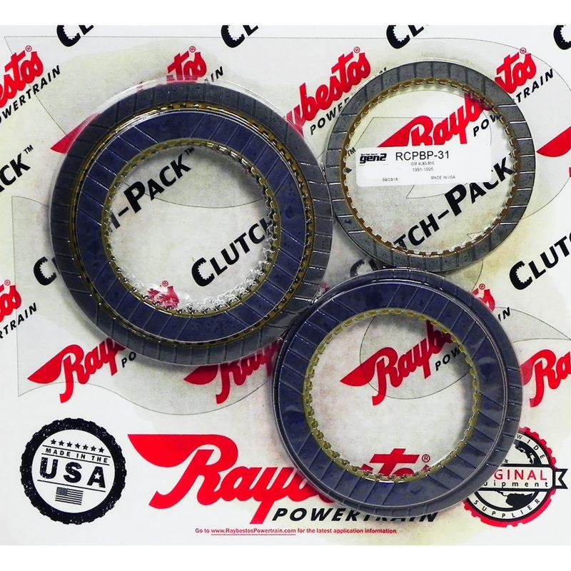 REMCO-Juego de discos pasta, Raybestos GEN2 azules 4L80E 1980-