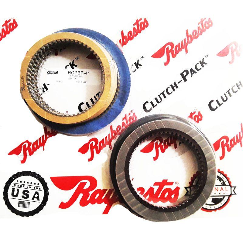 REMCO-Juego de discos pasta, Raybestos GEN2 azules 48RE 2003-